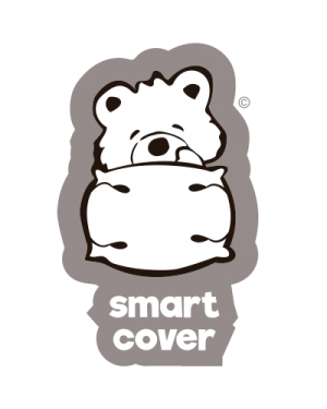 2x SMART COVER® SET - 100% PURE COTTON - JUNO® (7-7 y) PILLOW COVER  REPLACEMENT